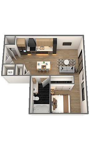 Strawberry Fields Floor Plan - The Chelsea